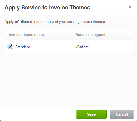 Assigning Invoice Themes